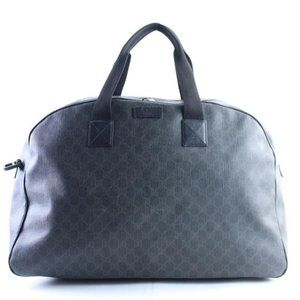 Gucci Extra Large Huge Black GG Supreme Monogram